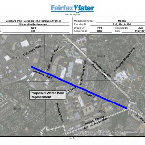 Leesburg Pike Water Main Replacement