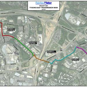Tysons East Transmission Main Locations