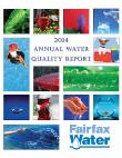 Annual Report On Water Quality 2014
